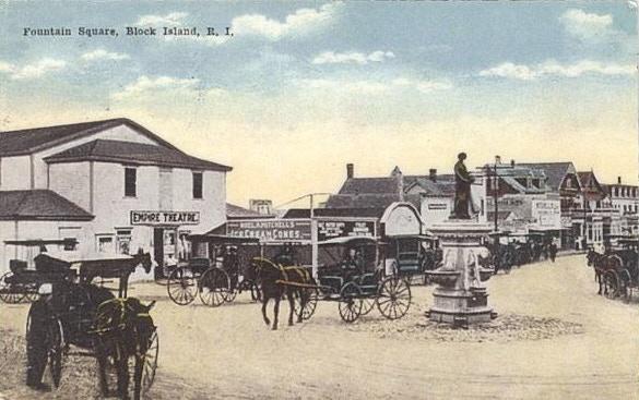 The Empire Theatre, Block Island circa 1890.