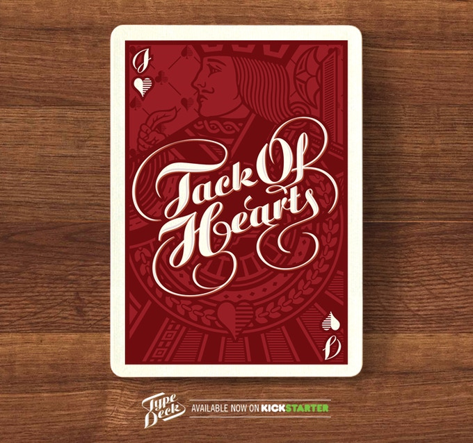 A mock up of a Jack card - The Jack of Hearts.
