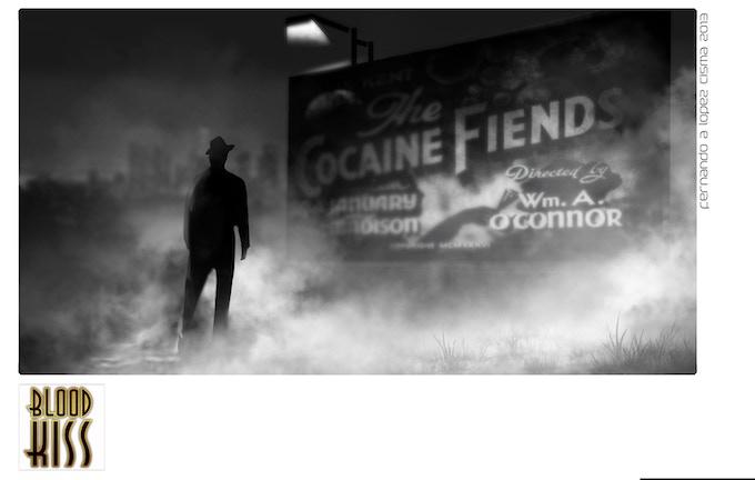 Film concept art by Fernando Lopez