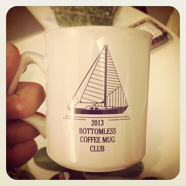 The Bottomless Mug Club!