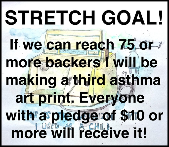 Stretch Goal #1 - Help everyone get an extra signed & numbered print!
