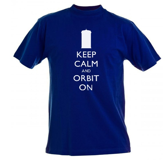 Here's one of our rewards. For a $45 pledge you'll receive this shirt and have your name and your message added to the TARDIS satellite.