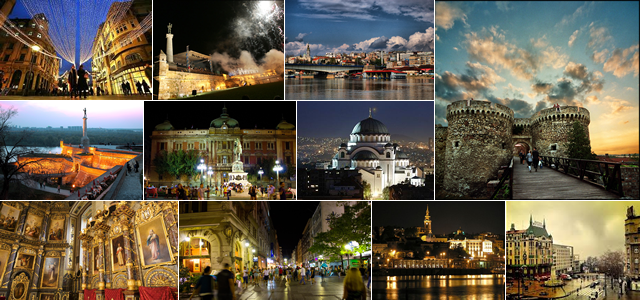 Belgrade - the city where all of this is happening