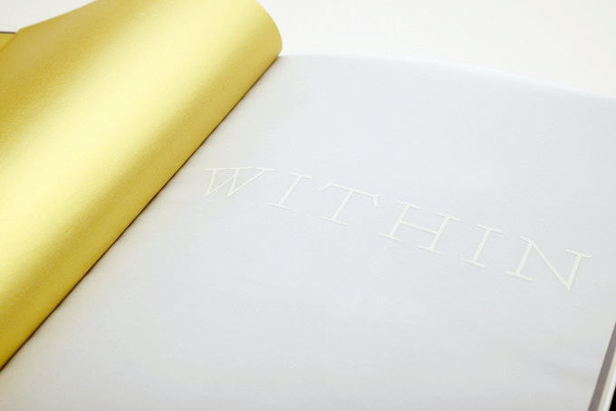 Within – endpaper & title page