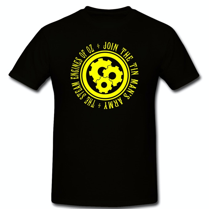 Join the Tin Man's Army Shirt in Black