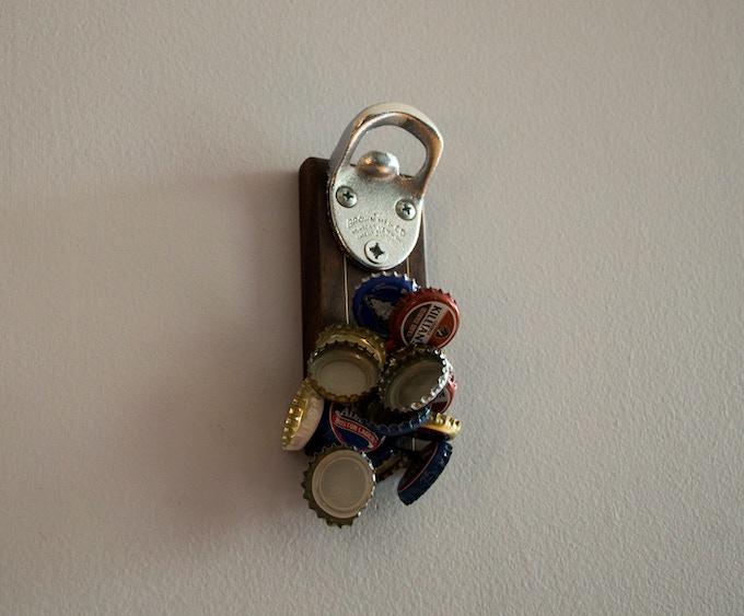 dropcatch magnetic bottle opener by kent frayn joe walsh kickstarter. Black Bedroom Furniture Sets. Home Design Ideas