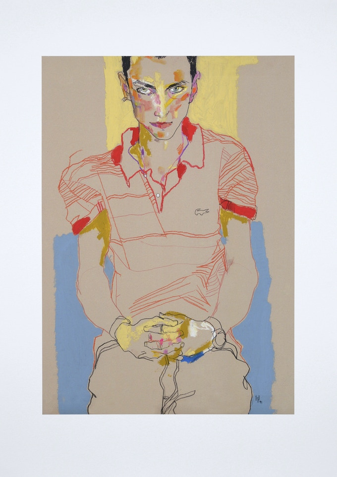 Richard – signed limited print on art paper