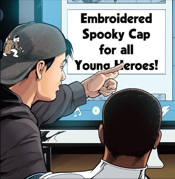Cool cap you got there, my friend!