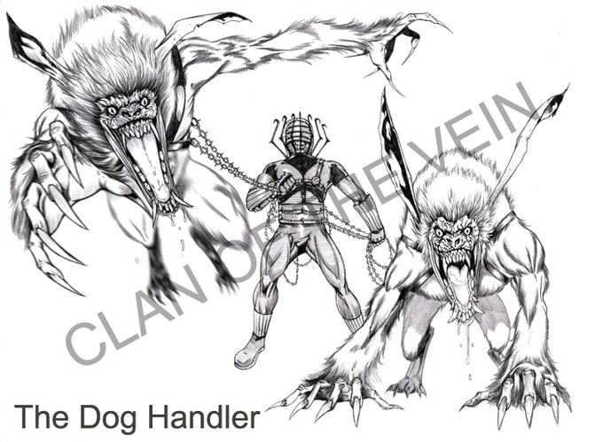 Clan of the Vein - The Dog Handler!