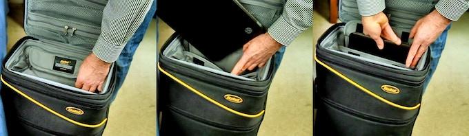 Internal padded laptop sleeve