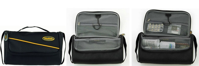 Toiletry kit that comes with your SkyRoll Spinner