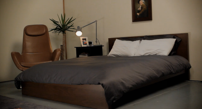 Wake up to a perfectly made bed