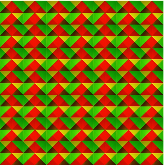 Early pattern for kaleidoscope and light manipulation experiments