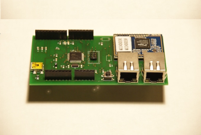 URUK WiFI Router , as you can see Arduino form factor