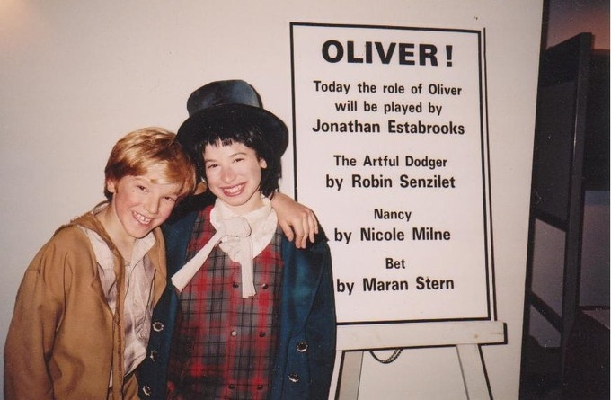 Playing the role of Oliver in 1994!