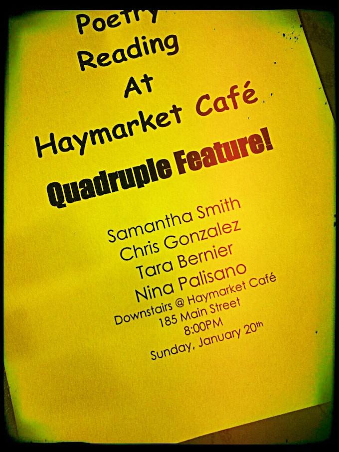 handbill from my first feature