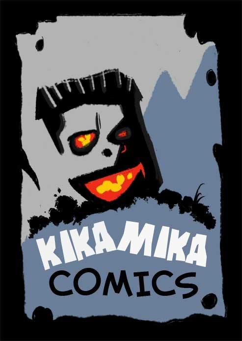 KIKAMIKA COMICS (logo)