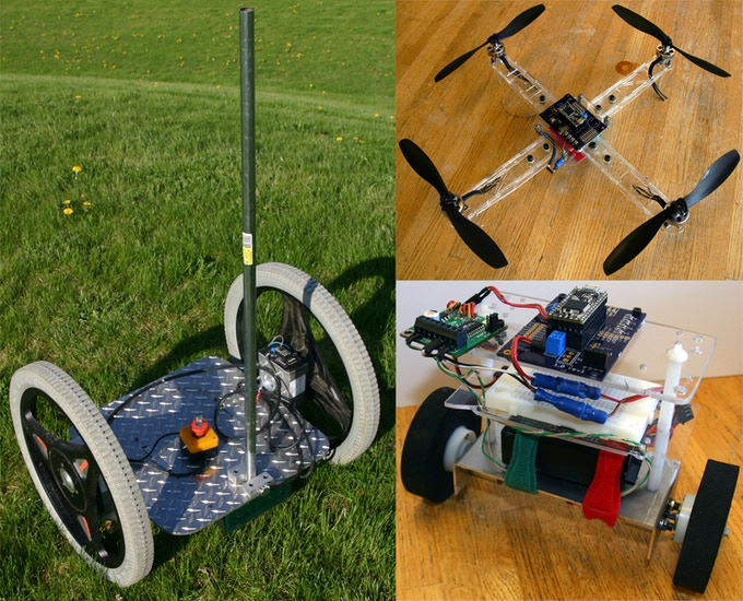 Here are a few of the projects that have been done using the original prototype Tilty Duo, but many more are possible