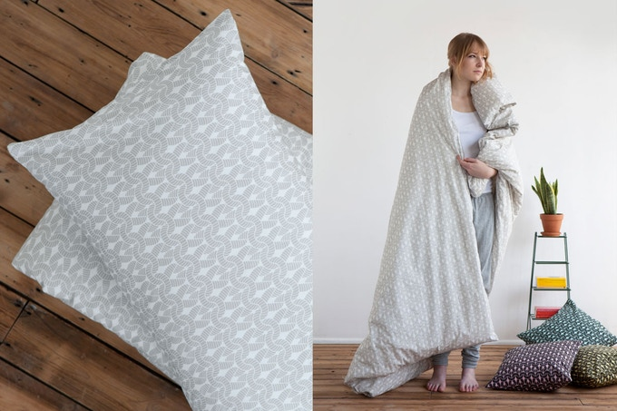 Natural Knit Knit bedding by Room39