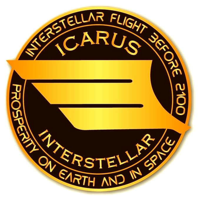 Wearing an Icarus Interstellar Team lapel badge is like being a Blue Blaze Irregular ...for realz!