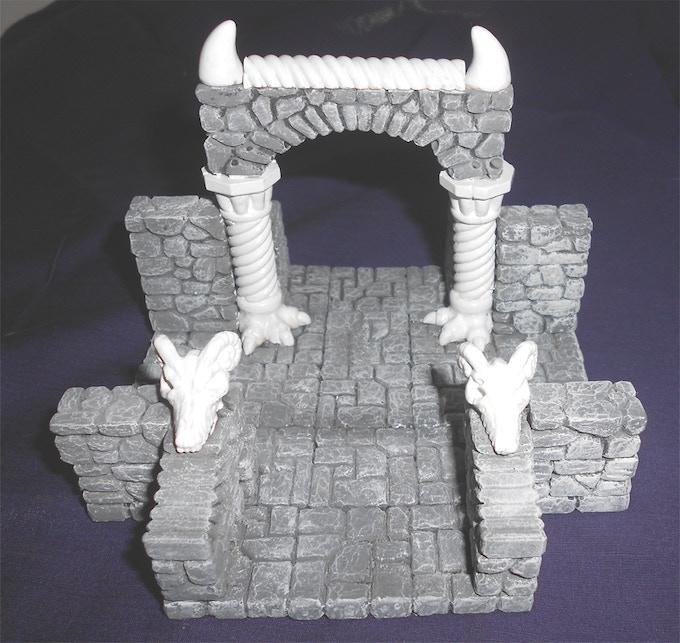 """Dragon Arch 4-Way, 5""""x5"""""""