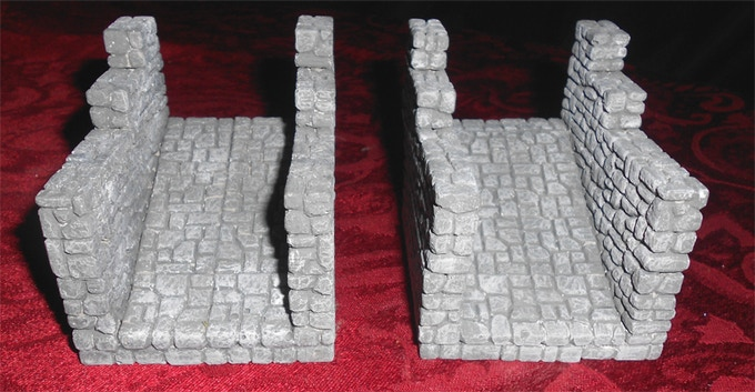 3x4 Angled Ramps, sold in sets of 2 for $10 per set