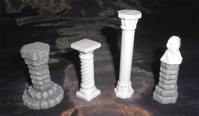 Assorted Pillars