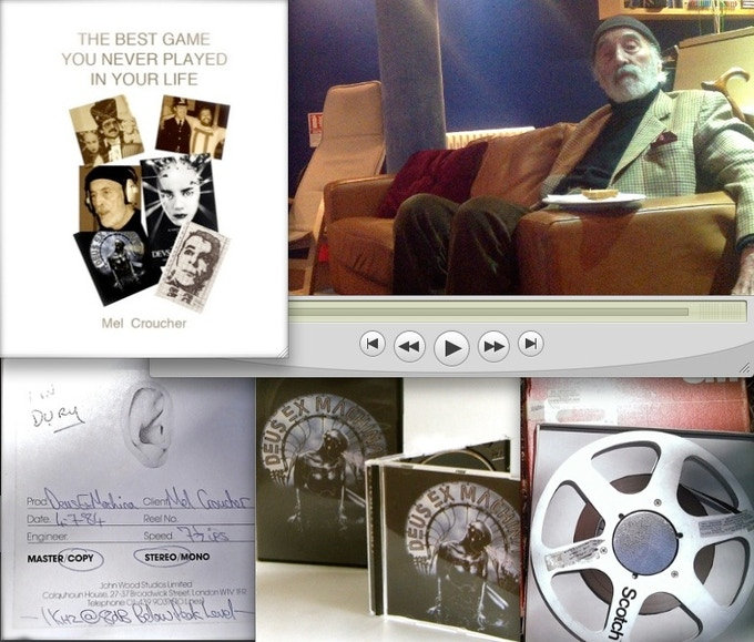 Rewards include the book, behind-the-scenes access, original master tapes, the album and of course the game itself.