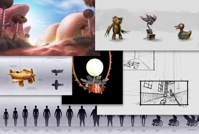 Rewards include original artwork and storyboards from Deus Ex Machina 2