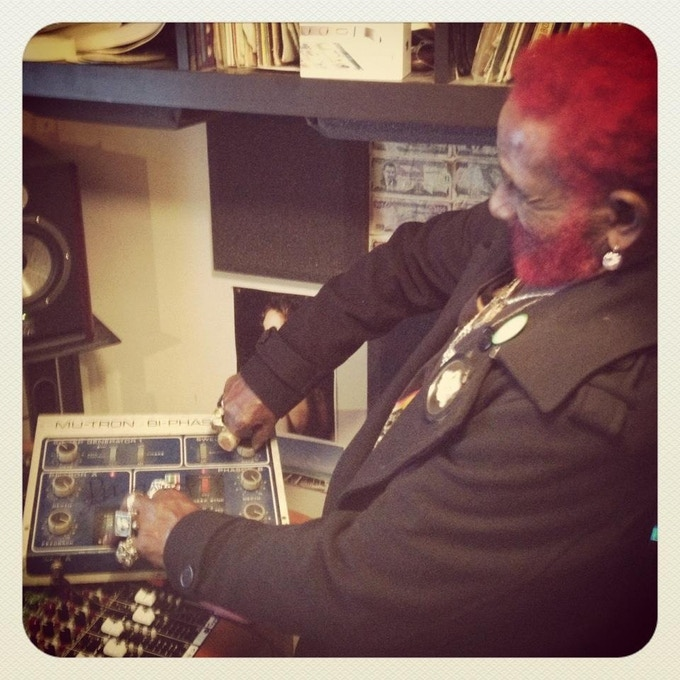 Lee 'scratch' Perry - Back on the Controls.