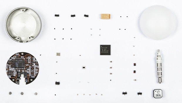 It makes more than 50 parts and 10 different manufacturing processes to make one Lumu.