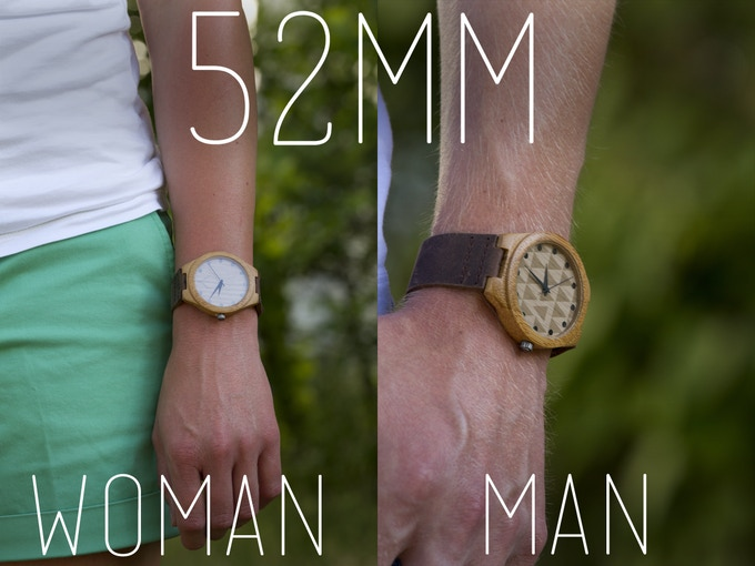 See how a 52mm would fit the normal man or woman