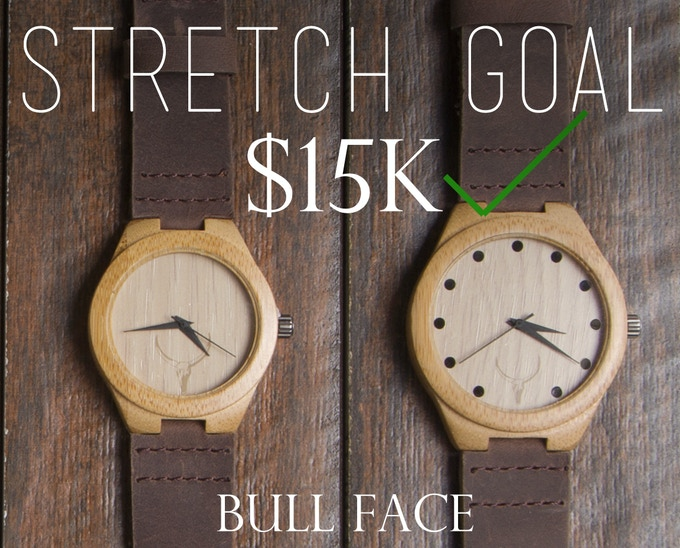 WE HIT OUR GOAL! The Bull Face is Now Available!