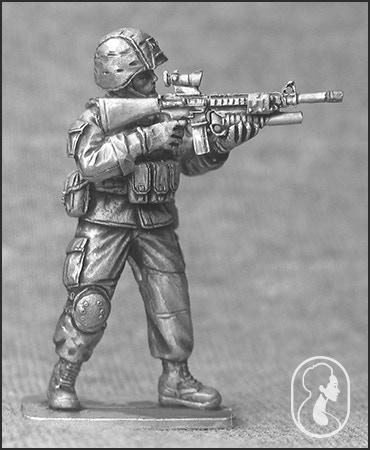 USMC Firing M16A4