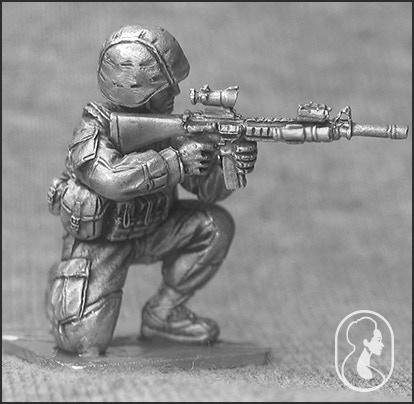 USMC Combat Pose