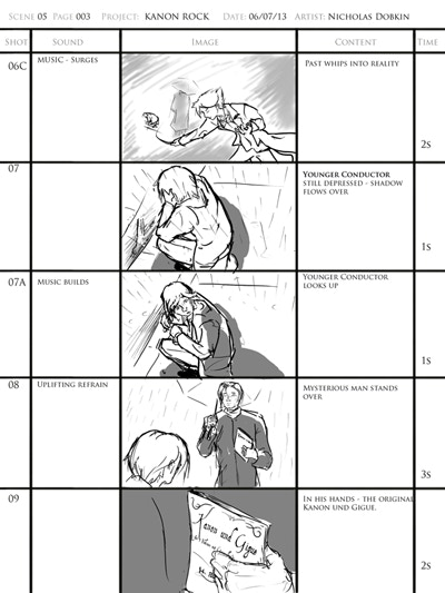 Storyboard - Scene 5 Page 3 - $35 Tier receives access to all storyboards