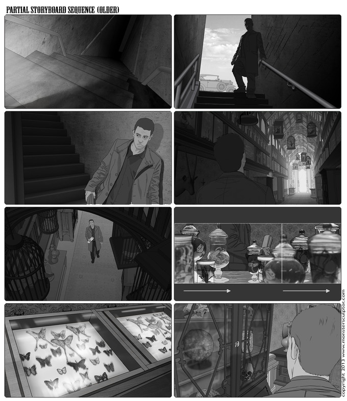 Older Storyboard Sequence (click to enlarge)