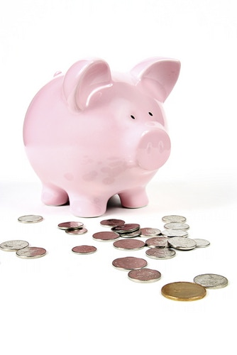 Gathering up our pennies! Photo by Shutterstock