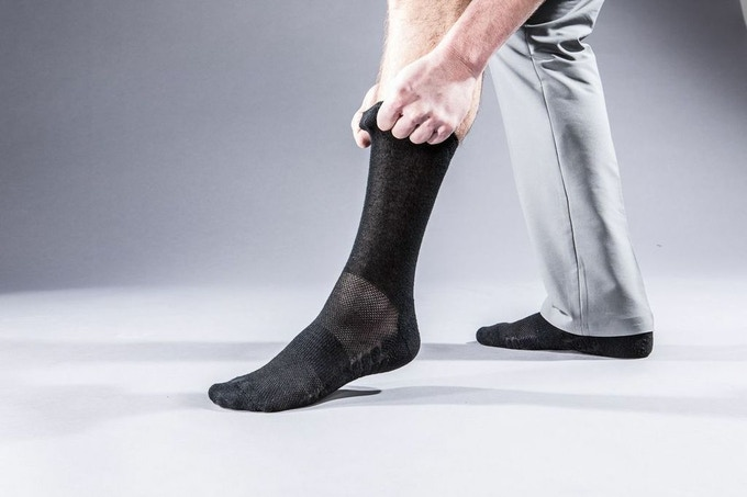 Prototype of the Atlas Dress Sock