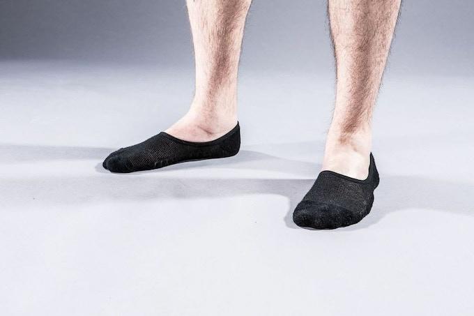 Prototype of the Atlas Loafer Sock