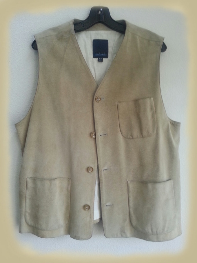 Suede Vest Worn On Stage By Chuck Negron