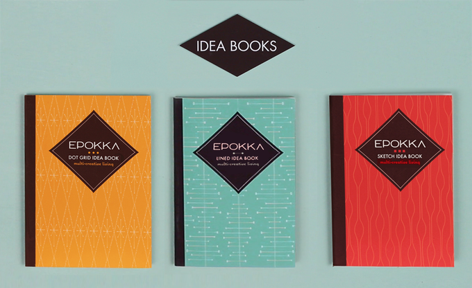 Pack of 3 Idea Books