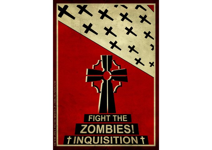 """The Black Death was the largest Zombie Outbreak in history, the Inquisition has fought the threat ever since."""