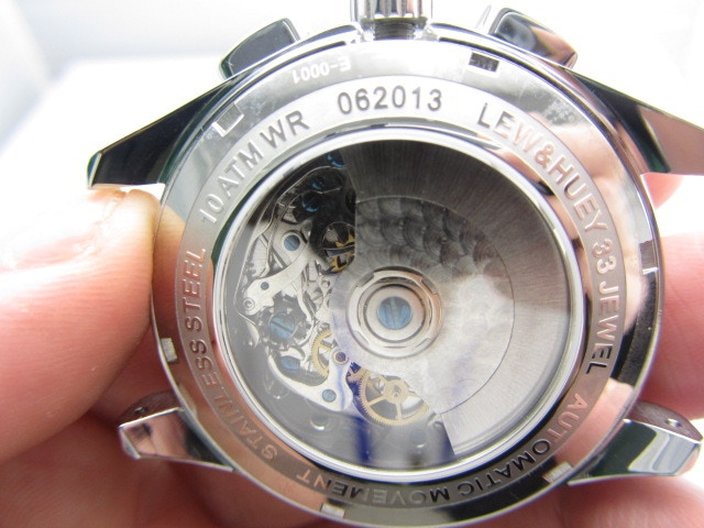 Seagull ST1940 cal. 33 Jewel 21,600 BPH Automatic Chronograph Movement