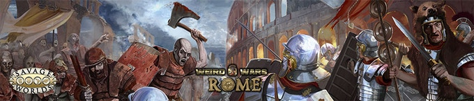 The Weird Wars Rome GM's Screen