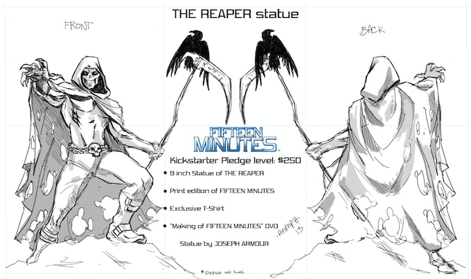Limited Edition REAPER STATUE!!