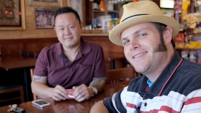 """Featured in the film: Randy Clemens, author of """"The Sriracha Cookbook,"""" and chef Jet Tila, Thai Culinary Ambassador to America."""