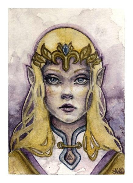 """Zelda 4.5"""" x 5.5"""""""