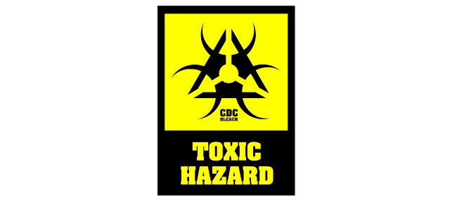 ToxHaz sign created by CDC in 1947, after the Albuquerque incident, predates Biohazard symbol