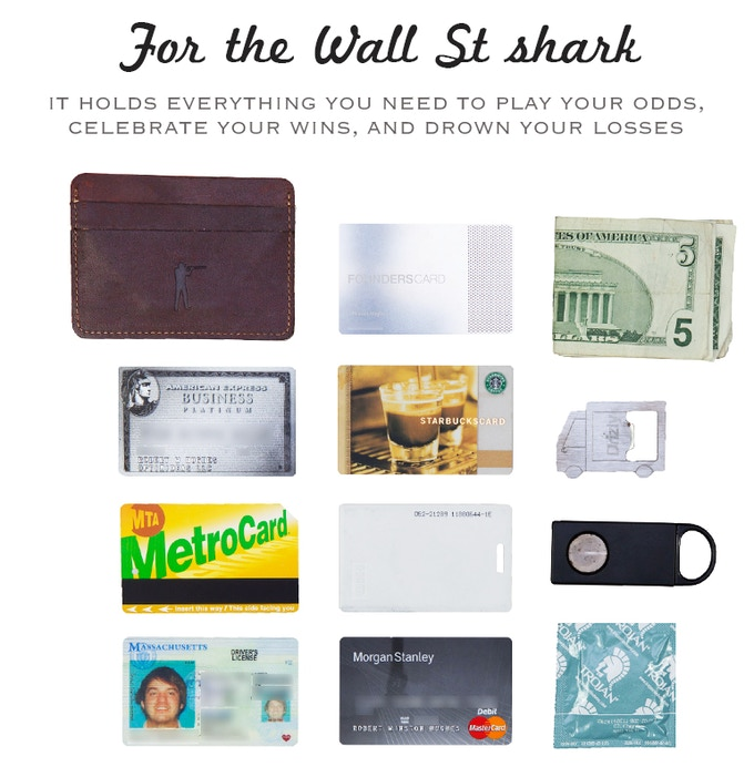 Ball and Buck: A Minimalist Wallet for Men - 100% USA MADE by Mark